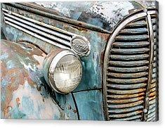 Rusty Ford 85 Truck Acrylic Print by David Lawson