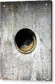 Rusty Hole Acrylic Print