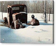 Rusty In Alberta Acrylic Print