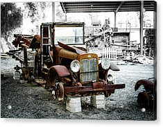 Rusty International Truck Acrylic Print