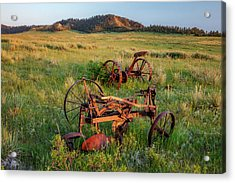 Rusty Machinery Acrylic Print