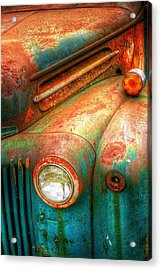 Rusty Old Ford Acrylic Print