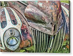 Rusty Road Warrior Acrylic Print