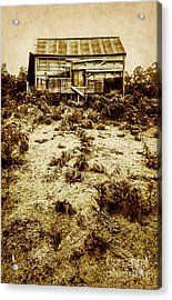 Rusty Rural Ramshackle Acrylic Print