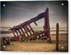 Rusty Shipwreck Acrylic Print