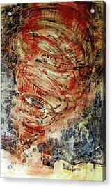 Rusty Tornado Acrylic Print by Jame Hayes