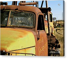 Rusty Tow Acrylic Print by Slade Roberts