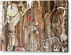 Rusty Treasures Photograph Acrylic Print