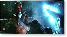 Rutger Hauer Number 2 Blade Runner Publicity Photo 1982 Color Added 2016 Acrylic Print