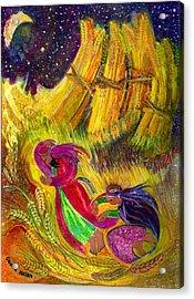 Ruth And Boaz Acrylic Print by Chana Helen Rosenberg