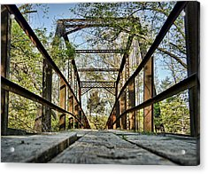 Englewood Bridge Acrylic Print by Cricket Hackmann