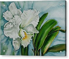 Ruth's Orchid Acrylic Print
