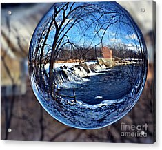 Rutland Dam Two Acrylic Print