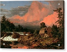 Rutland Falls, Vermont Acrylic Print