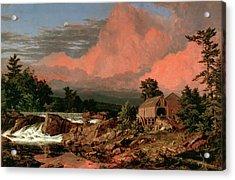 Rutland Falls Vermont Acrylic Print