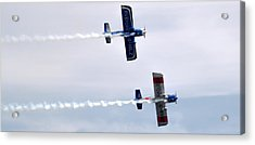Acrylic Print featuring the photograph Rv8tors Side By Side by Scott Lyons