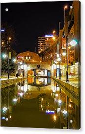 Rva Canal Walk Acrylic Print