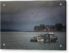 Acrylic Print featuring the photograph Ryan D by Randy Hall
