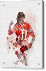 Ryan Giggs Acrylic Print