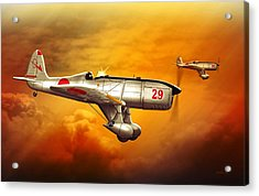 Ryan St-a Captured Imperial Japanese Trainer Acrylic Print