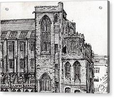 Rylands Library Acrylic Print