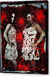 Ryli And Corinne 2 Acrylic Print