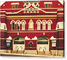 Ryman Auditorium -the Home Of Country Music Acrylic Print