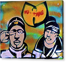 Rza And Ghostface Acrylic Print