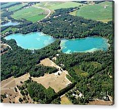 S-046 Stratton Lake 2 Waupaca County Wisconsin Acrylic Print