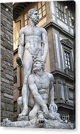 S 43 Hercules, Florence Acrylic Print by Norberto Torriente