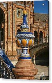 S 44 Alcazar, Seville, Spain  Acrylic Print by Norberto Torriente