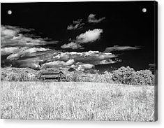 S C Upstate Barn Bw Acrylic Print