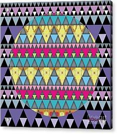 S-pyramids 1 Acrylic Print