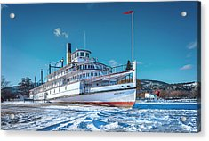 Acrylic Print featuring the photograph S. S. Sicamous by John Poon