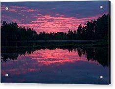 Sabao Sunset 01 Acrylic Print