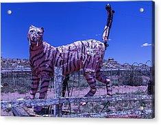 Saber-tooth Cat Acrylic Print