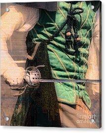 Sabre Rattling  Acrylic Print by Steven Digman
