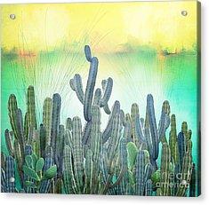 Sabress Acrylic Print