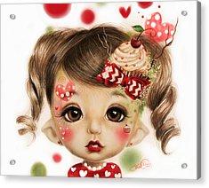 Sabrina - Elf  Acrylic Print