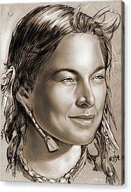 Sacagawea 2 Acrylic Print