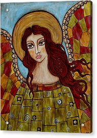 Sachael Acrylic Print by Rain Ririn