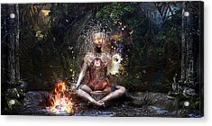 Sacrament For The Sacred Dreamers Acrylic Print by Cameron Gray