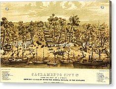 Sacramento City  Acrylic Print