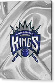 Sacramento Kings Acrylic Print by Afterdarkness