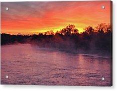 Sacramento River Sunrise Acrylic Print