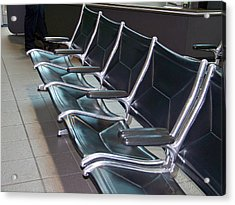 Acrylic Print featuring the photograph Sacramento Seating by Barbara MacPhail