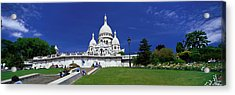 Sacre Coeur Cathedral Paris France Acrylic Print by Panoramic Images