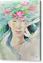 Sacred Awakening Acrylic Print
