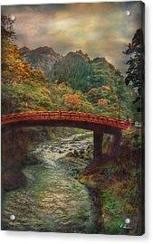 Acrylic Print featuring the photograph Sacred Bridge by Hanny Heim