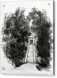 Sacred Gate  Acrylic Print